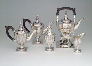 Five-Piece Coffee and Tea Service, 1929