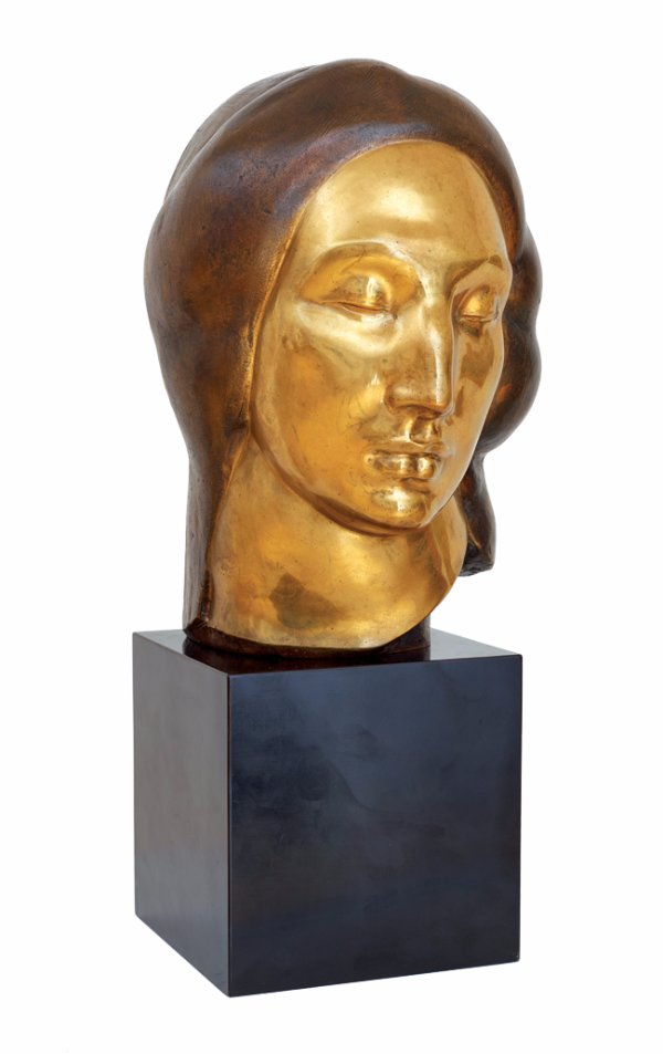 Gaston Lachaise, Egyptian Head, 1922