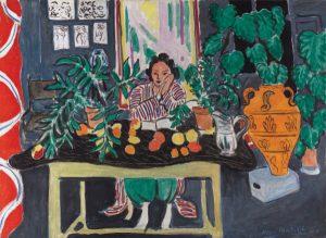 Henri Matisse, Interior with Etruscan Vase