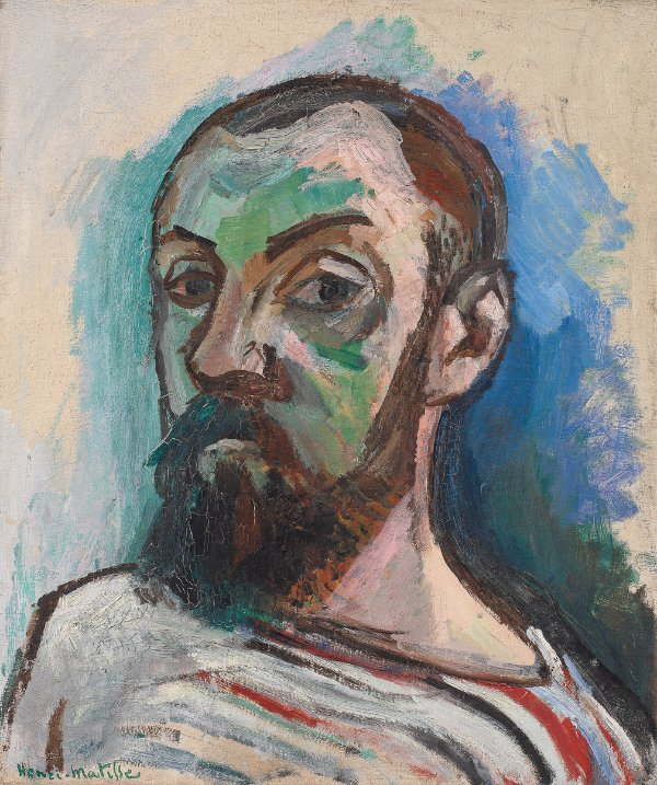 Henri Matisse, Self-Portrait, 1906