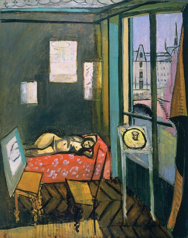 Henri Matisse, Studio, Quai Saint-Michel