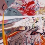 James Rosenquist, Time Stops the Face Continues