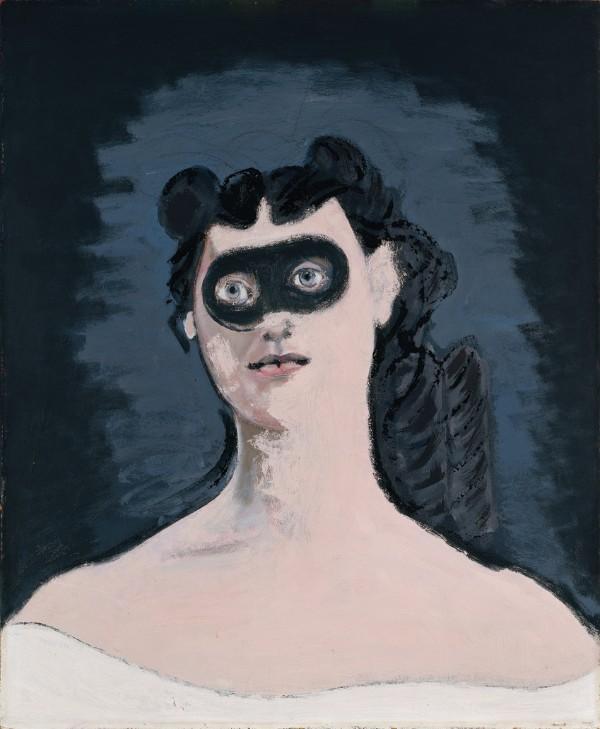 John D. Graham, Mascara, 1950