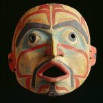 Heiltsuk artist from central coast of British Columbia, Mask