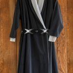 Wrap dress, circa 1960s-70s