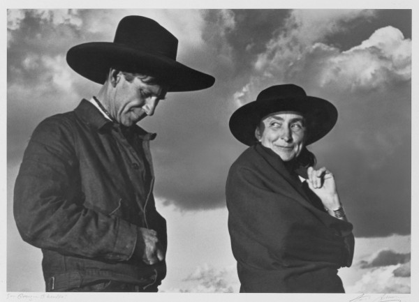 Ansel Adams, Georgia O'Keeffe and Orville Cox