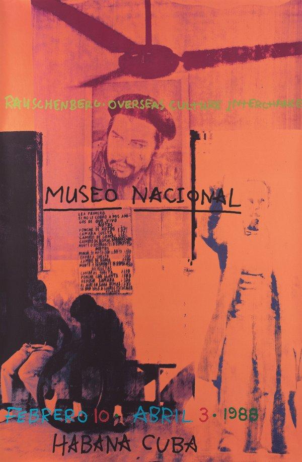 Robert Rauschenberg, Poster for ROCI Cuba