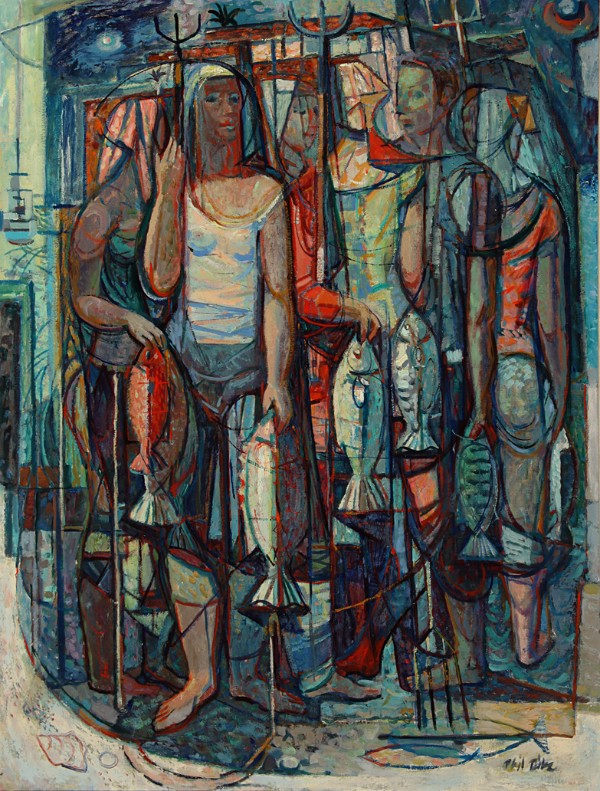 Phil Dike, Spear Fishers,