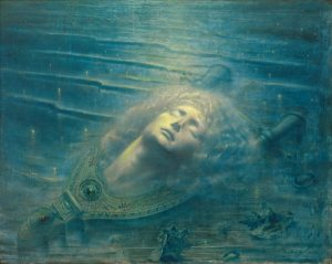 Jean Delville, The Death of Orpheus