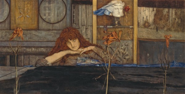Fernand Khnopff, I Lock My Door upon Myself
