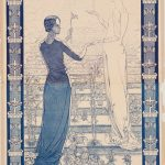 Carlos Schwabe, Poster for the first Salon de la Rose+Croix