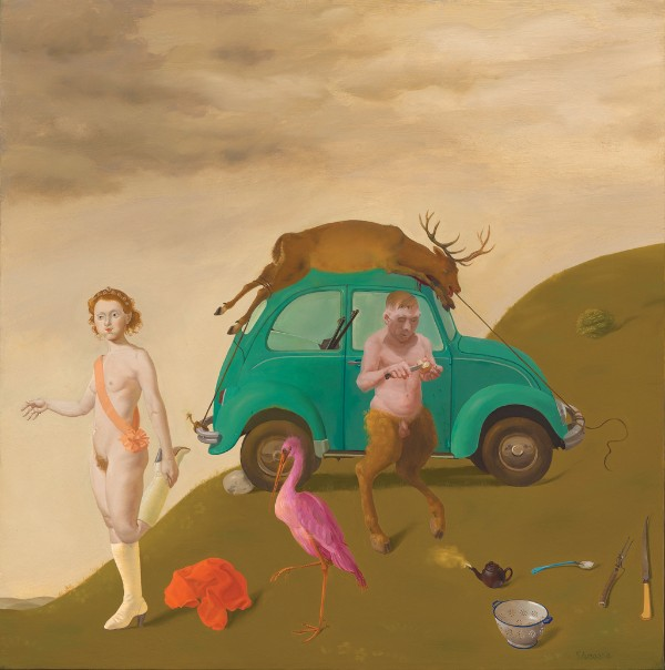 Honoré Sharrer, Afternoon of the Satyr