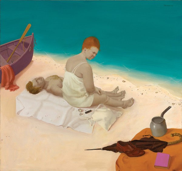 Honoré Sharrer, Afternoon on the Beach