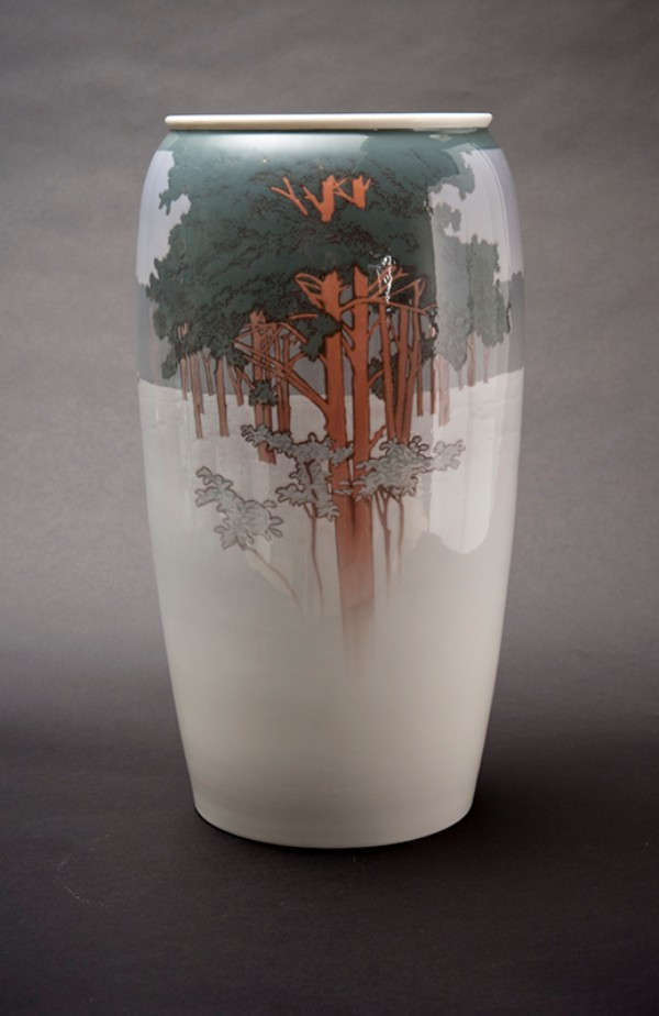 Theodor Hermann Schmuz-Baudiss for KPM, Winter Vase, 1914