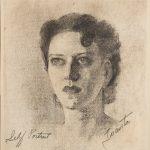 Juanita Guccione, Self Portrait, circa 1936