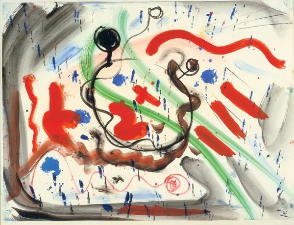 Hans Hofmann, Untitled, circa 1945