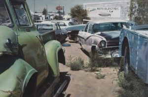 John Salt, Albuquerque Wreck Yard (Sandia Auto Electric), 1972