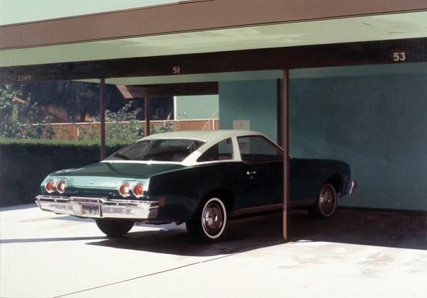 Robert Bechtle, '73 Malibu, 1974