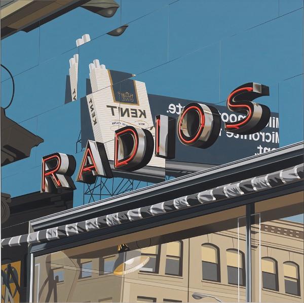 Robert Cottingham, Radios, 1977