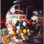 "Charles Bell, Gum Ball No. 10: ""Sugar Daddy,"" 1975"