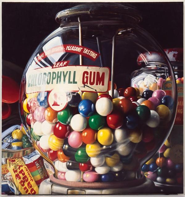 "Charles Bell, Gum Ball No. 10: ""Sugar Daddy,"" 1975"