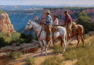 Gary Niblett, Canyon Overlook, 2015