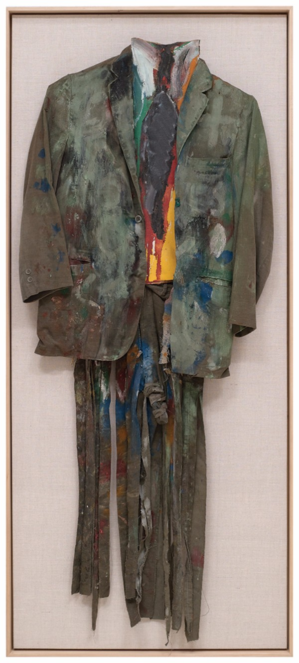 Jim Dine, Green Suit, 1959