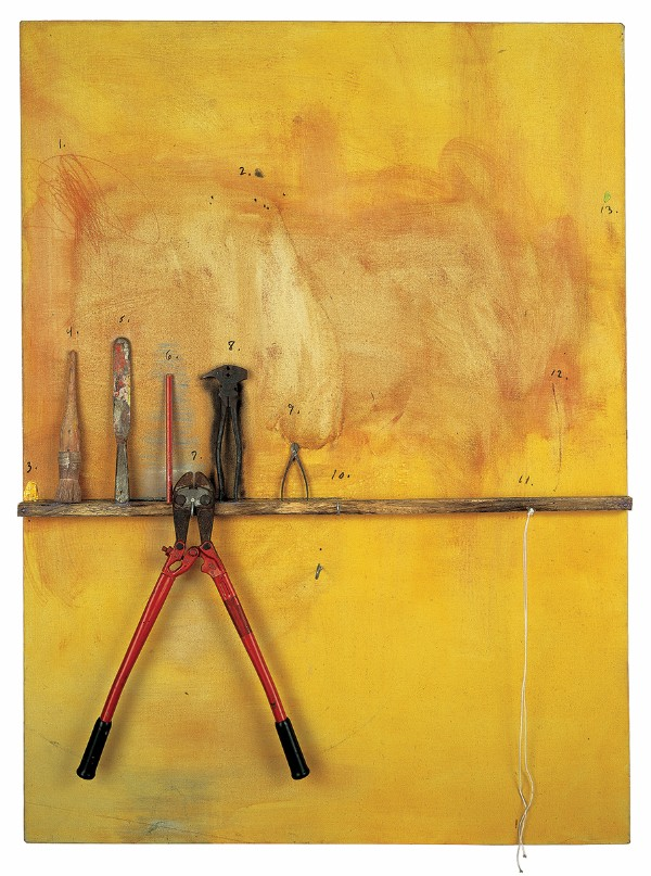 Jim Dine, The Yellow Painting, 1972–73