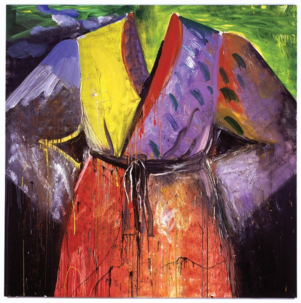 Jim Dine, Blood's on the River Now, 2005
