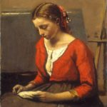 Camille Corot, A Girl Reading