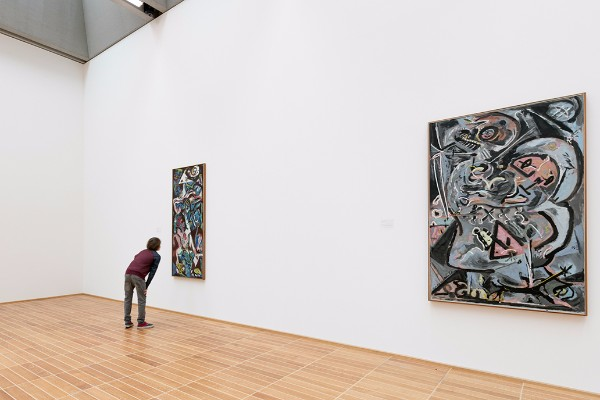 Inside the Kunstmuseum Basel.