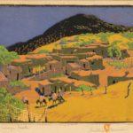Gustave Baumann, Talaya Peak, 1924