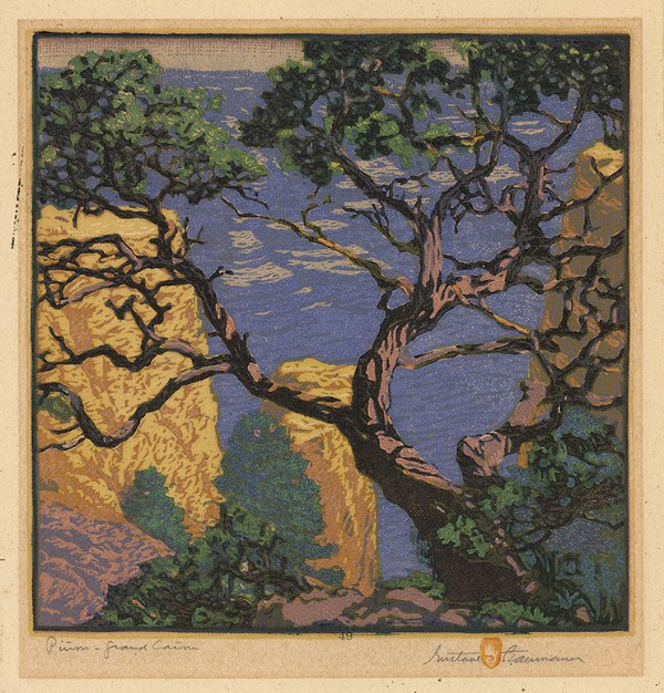 Gustave Baumann, Pinon Grand Canyon