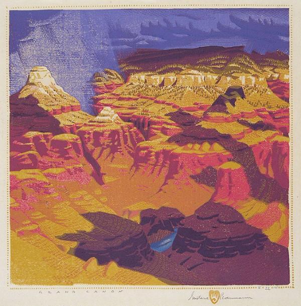 Gustave Baumann, Grand Canyon, 1919