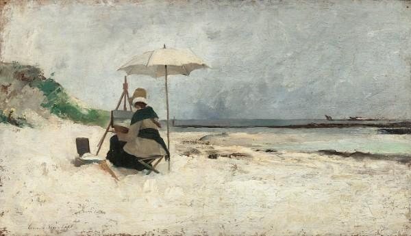 Emma Löwstädt-Chadwick, Beach Parasol, Brittany
