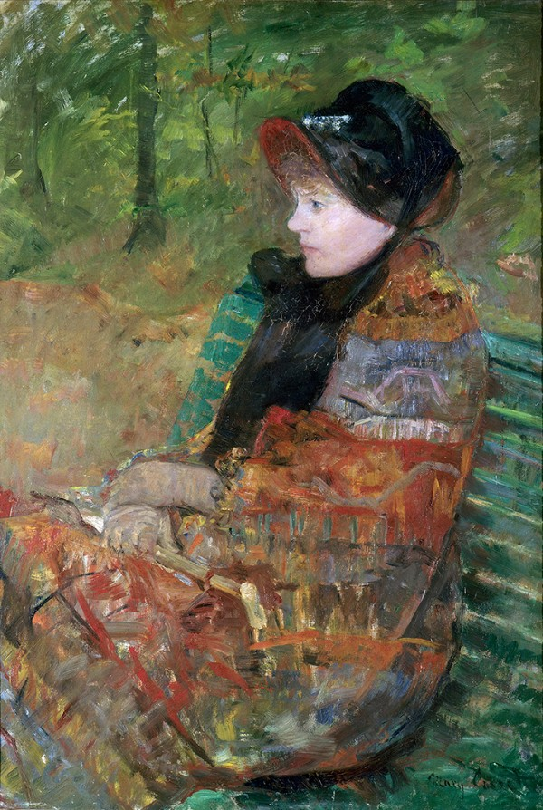 Mary Cassatt, Autumn, Portrait of Lydia Cassatt,