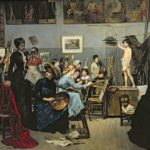 Marie Bashkirtseff, In the Studio, 1881