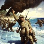 N.C. Wyeth, Marines Landing on the Beach