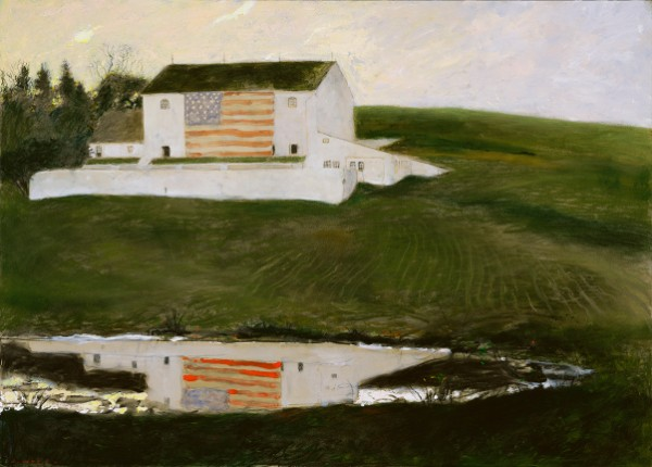 Jamie Wyeth, Patriot's Barn