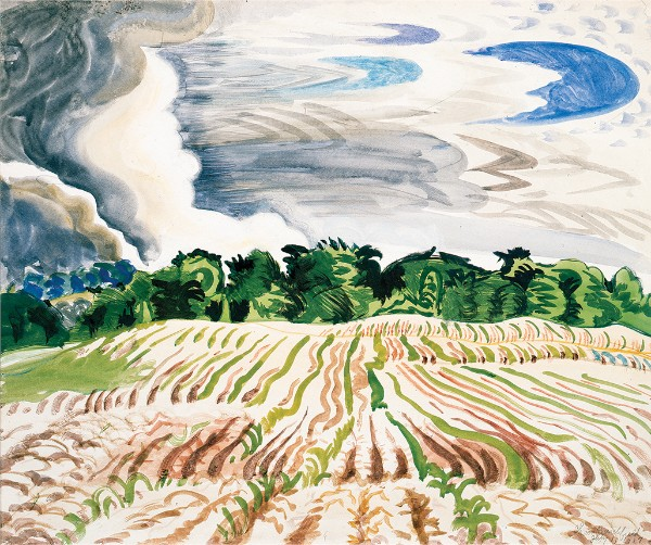 Charles E. Burchfield, Clearing Sky