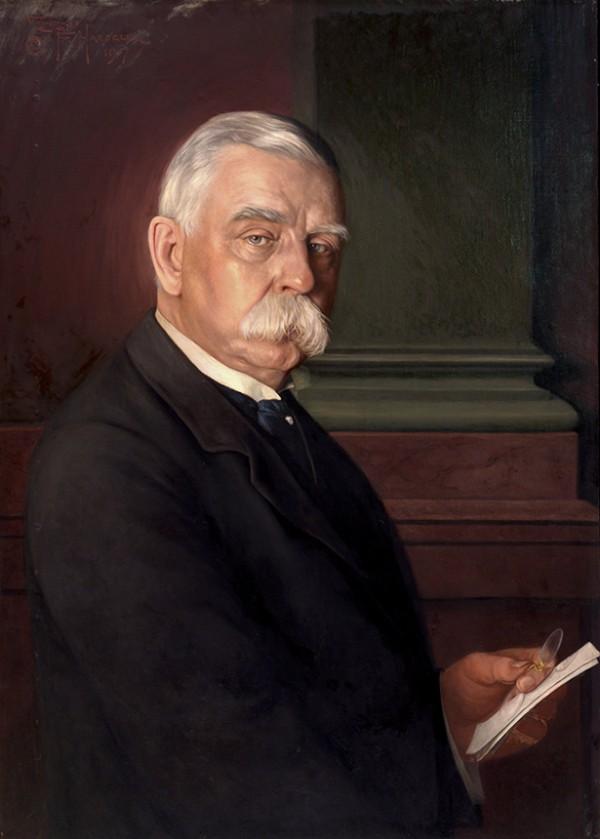 Conrad F. Haeseler, Portrait of John G. Johnson, 1917