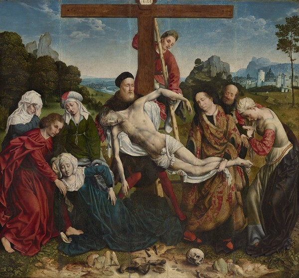 Joos van Cleve, The Descent from the Cross