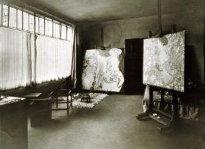 Gustav Klimt's last studio