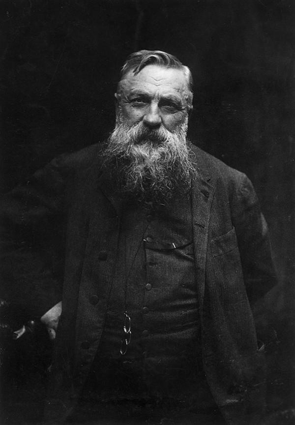 Auguste Rodin, circa 1900