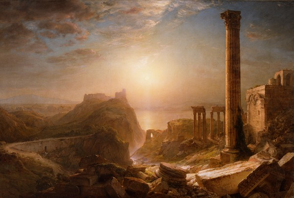 Frederic Church, Syria by the Sea