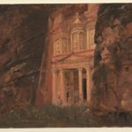 Frederic Church, El Khasneh, Petra