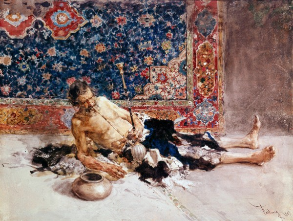 Marià Fortuny, The Opium Smoker, 1869