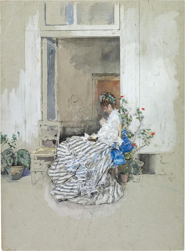 Marià Fortuny, Cecilia de Madrazo, 1874