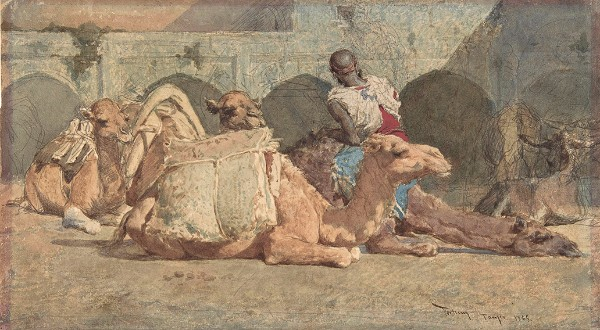 Marià Fortuny, The Camel Driver, 1865