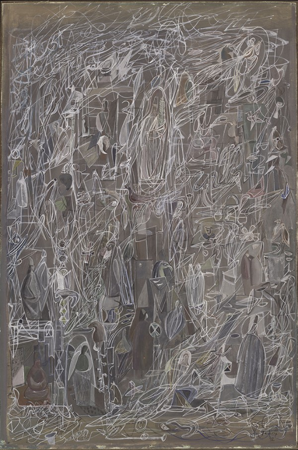 Mark Tobey, Threading Light, 1942